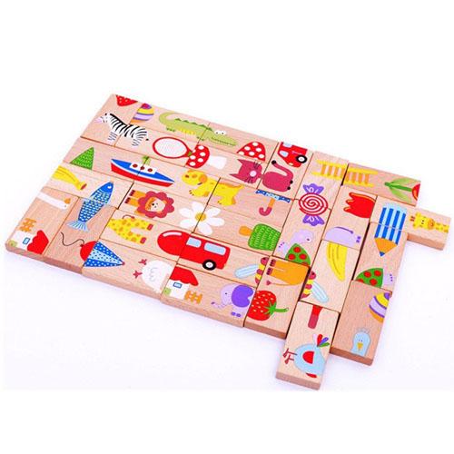 Bộ đồ chơi Domino 28 chi tiết cho bé