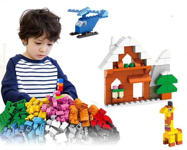 Bộ xếp hình Lego 1000 chi tiết Phiên bản mới