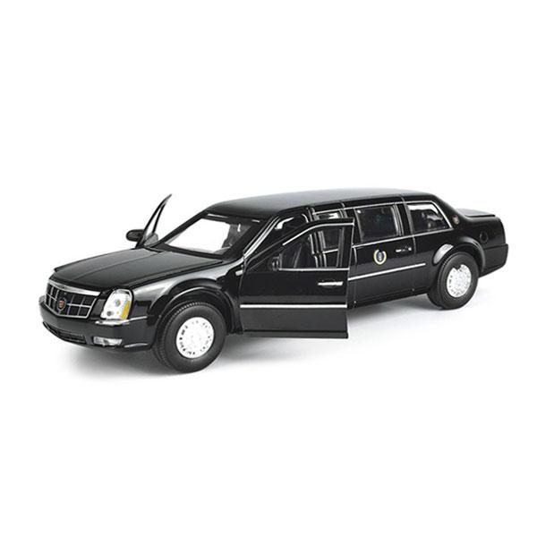 Xe Mô hình Cadillac Presidential Limousine tỉ lệ 1/32 màu đen – Chất Liệu Hợp Kim Cao Cấp