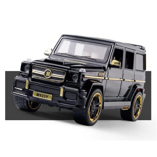 Mô hình xe ô tô Mercedes-AMG G65 Brabus Hãng XLG tỉ lệ 1/24 màu đen – Chất Liệu Hợp Kim Cao Cấp