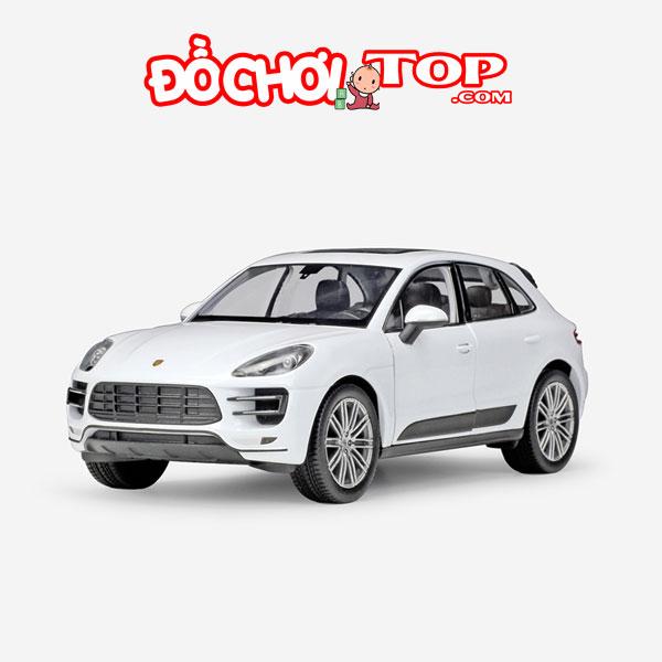 Mô hình xe ô tô Porsche Macan Turbo Hãng Welly FX tỉ lệ 1:24 màu trắng – Chất Liệu Hợp Kim Cao Cấp