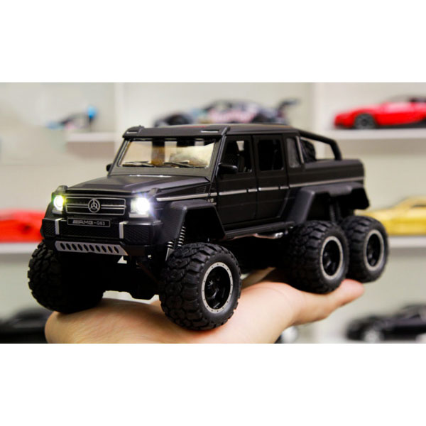 Xe mô hình Mercedes-Benz G63 NEWAO ALLOY màu đen- Chất Liệu Hợp Kim Cao Cấp