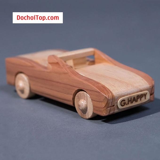 Xe gỗ mui trần G HAPPY GH016