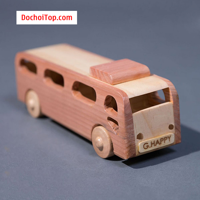 Xe BUS gỗ chính hãng G HAPPY GH007