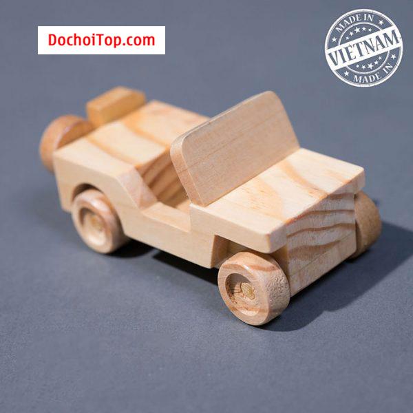 Xe gỗ JEEP mini 2.0 G Happy