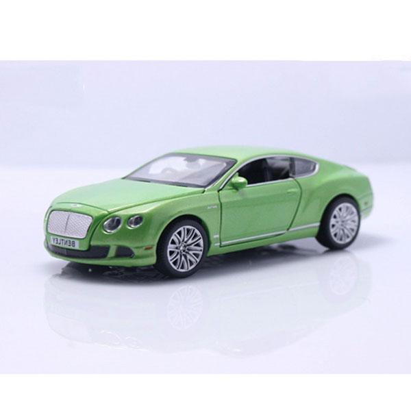 Xe mô hình Bentley Continental tỉ lệ 1:32 màu xanh Lá – Chất Liệu Hợp Kim Cao Cấp