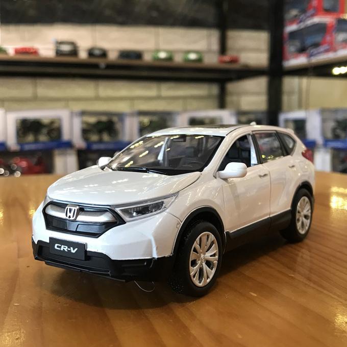 Xe mô hình Honda CR-V tỉ lệ 1:32 màu trắng – Chất Liệu Hợp Kim Cao Cấp
