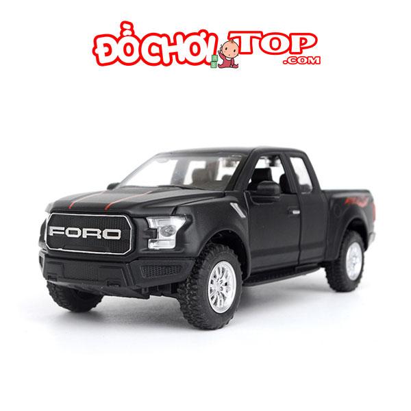 Xe mô hình Ford F150 Raptor tỉ lệ 1:32 hãng Miniauto màu đen – Chất Liệu Hợp Kim Cao Cấp.
