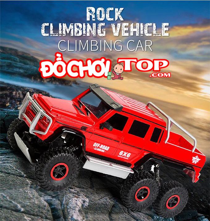 Rock Defender – xe địa hình điều khiển từ xa 3 cầu dẫn động 6 bánh