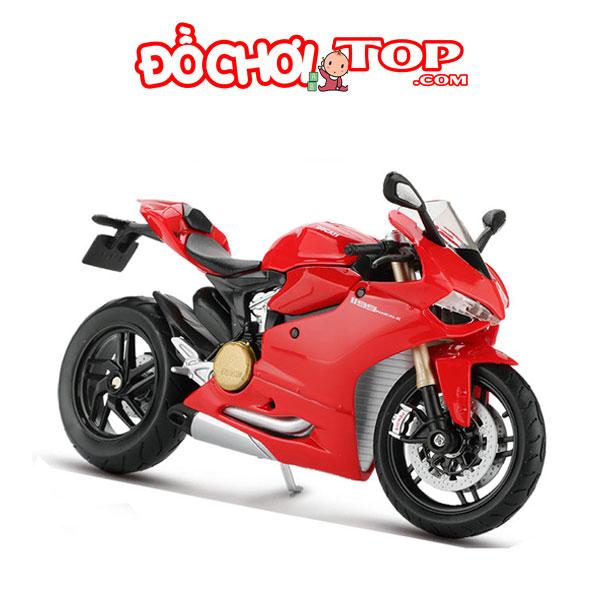 Xe mô hình Ducati 1199 Panigale tỉ lệ 1:18 – Chất Liệu Hợp Kim Cao Cấp