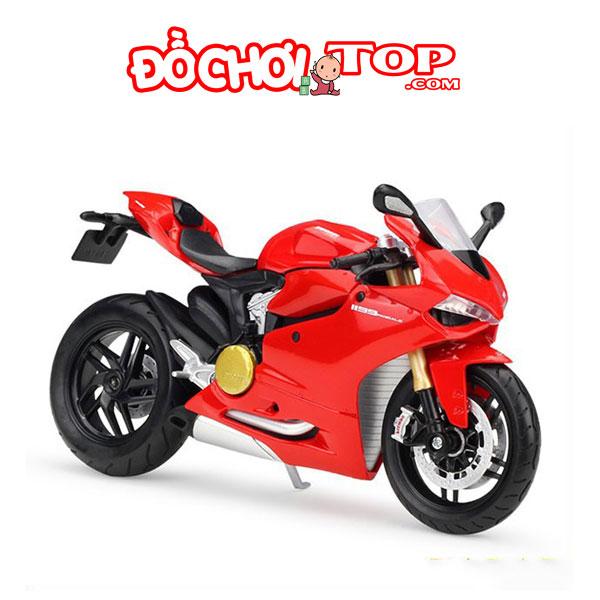 Xe mô hình Ducati Panigale Maisto 1:12 Hợp Kim Cao Cấp