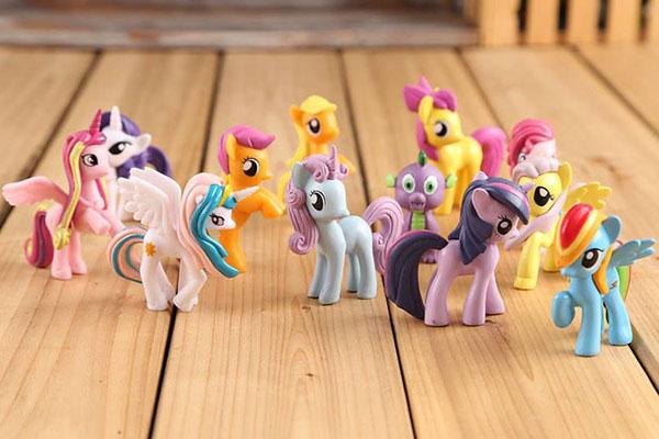 Đồ chơi ngựa Pony thiên thần Set 12 con