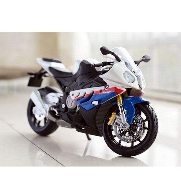 Xe mô hình mô tô BMW S1000RR tỉ lệ 1:12 – Chất Liệu Hợp Kim Cao Cấp