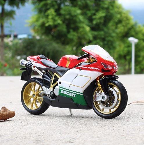Mô hình Ducati 1098s tỉ lệ 1/18 hãng Maisto – Chất Liệu Hợp Kim Cao Cấp