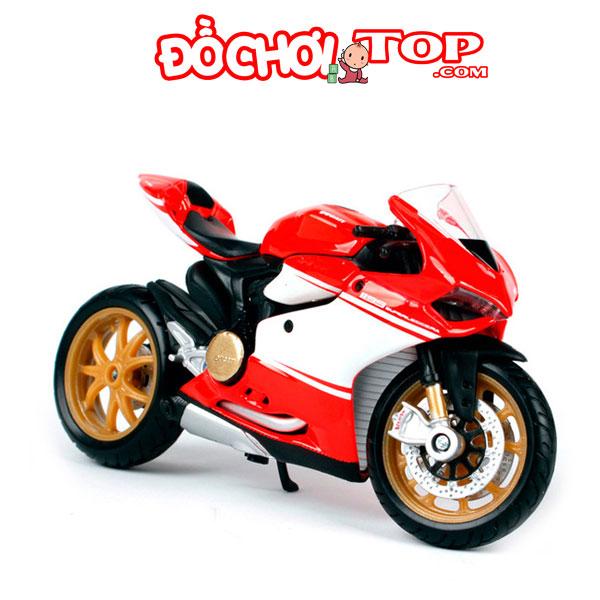 Xe mô tô Ducati 1199 Superleggera tỉ lệ 1/18 hãng Maisto