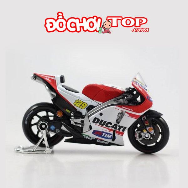 Mô hình Mô tô Ducati Desmosedici 04 tỉ lệ 1:18 hãng Maisto – Chất Liệu Hợp Kim Cao Cấp