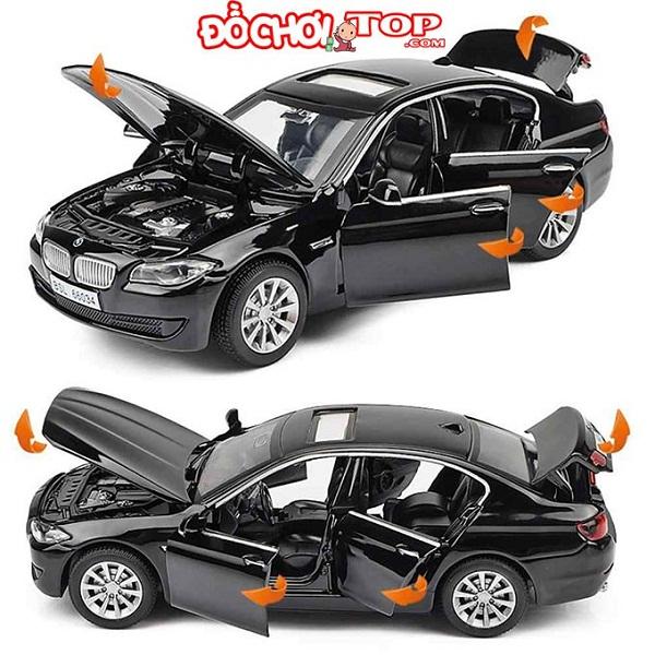 Xe mô hình ô tô BMW 535i tỉ lệ 1:32 màu đen – Hợp Kim Cao Cấp