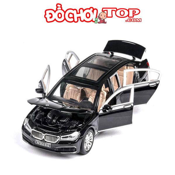 Xe mô hình BMW 760Li hãng XLG tỉ lệ 1:24 màu đen – Hợp Kim Cao Cấp