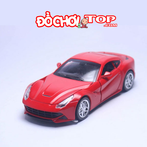 Xe mô hình Ferrari F12 tỉ lệ 1:32 màu đỏ – Hợp Kim Cao Cấp
