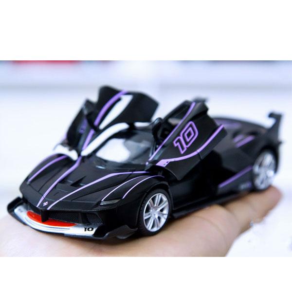 Xe mô hình ô tô Ferrari FXX-K tỉ lệ 1:32 màu đen – Hợp Kim Cao Cấp