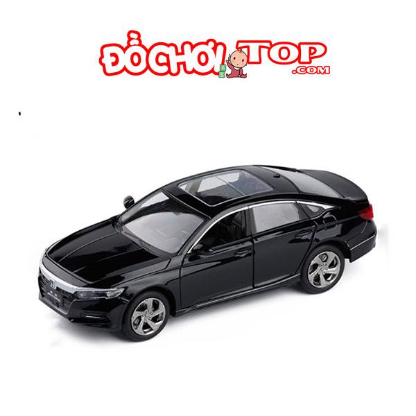 Xe mô hình ô tô Honda Accord Sport Turbo tỉ lệ 1:32 màu đen – Hợp Kim Cao Cấp