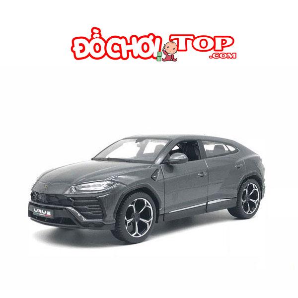 Xe mô hình ô tô Lambor Urus tỉ lệ 1:24 hãng Maisto màu đen – Hợp Kim Cao Cấp