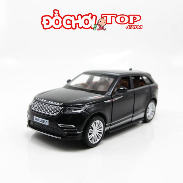 Xe mô hình Land Rover Range Rover Velar tỉ lệ 1:32 màu đen Chất Liệu Hợp Kim Cao Cấp