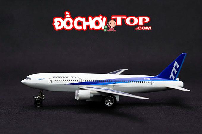 Mô hình máy bay Boing 777 tỉ lệ ~1/300 màu trắng – Hợp Kim Nguyên Khối