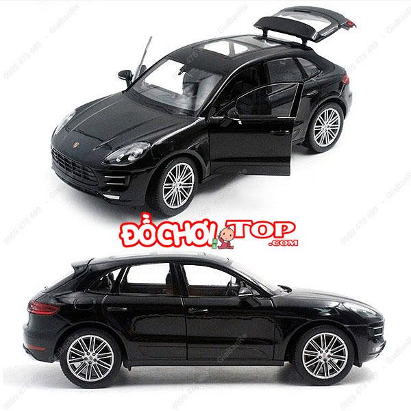 Xe mô hình Porsche Macur Turbo tỉ lệ 1:32 màu đen – Hợp Kim Cao Cấp