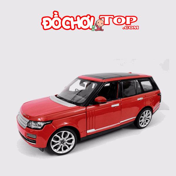 Xe mô hình ô tô trưng bày Range Rover Land Rover hãng Rastar tỉ lệ 1:24 màu đỏ