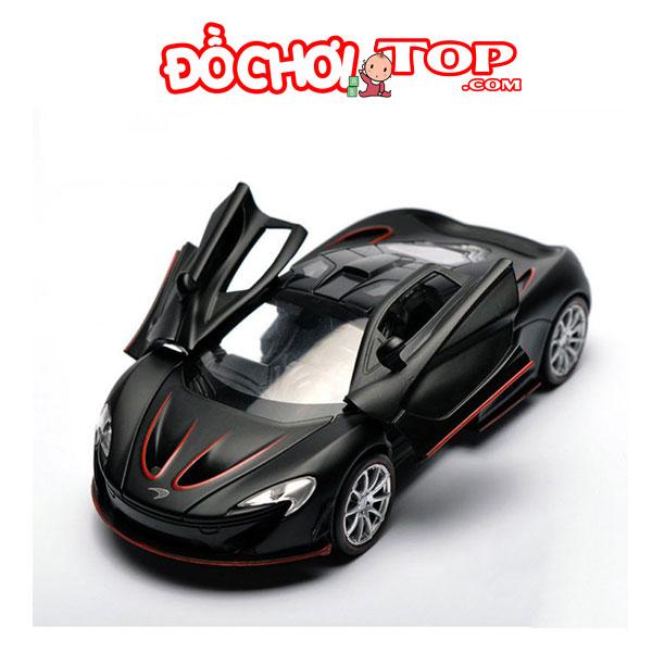 Xe mô hình ô tô McLaren P1 hãng Double Horses tỉ lệ 1:32 màu đen – Hợp Kim Cao Cấp