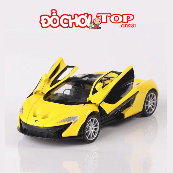 Xe mô hình McLaren P1 hãng Double Horses tỉ lệ 1:32 màu vàng – Hợp Kim Cao Cấp