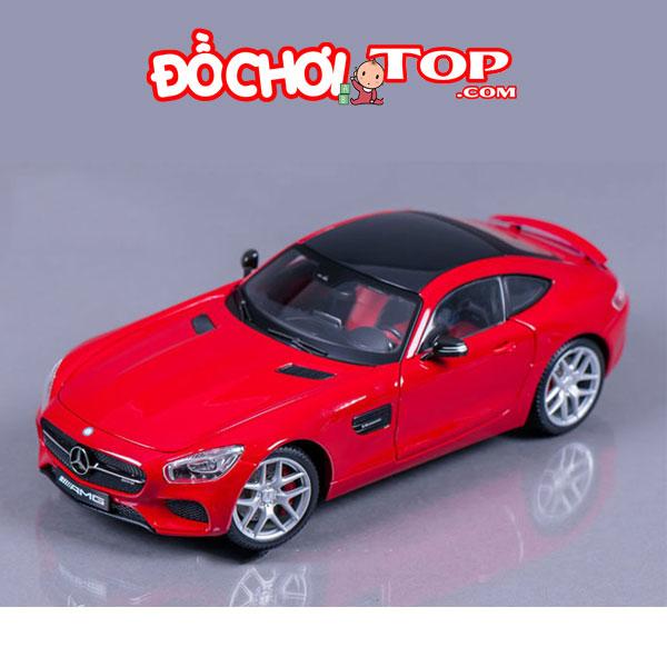 Xe mô hình Mercedes-Benz GT tỉ lệ 1:32 màu đỏ – Hợp Kim Cao Cấp