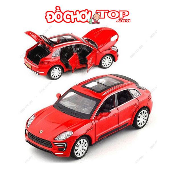 Xe mô hình ô tô Porsche Macur Turbo tỉ lệ 1:32 màu đỏ – Hợp Kim Cao Cấp