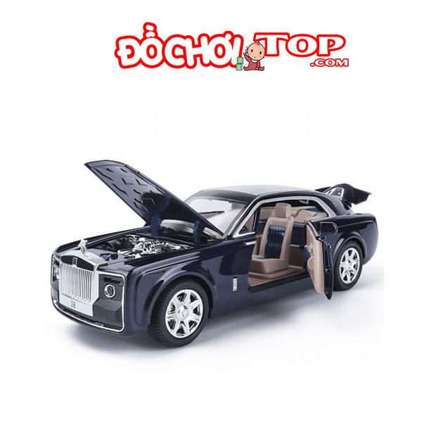 Xe mô hình Roll Royce Sweptail tỉ lệ 1/24 hãng XLG màu xanh đen – Hợp Kim Cao Cấp