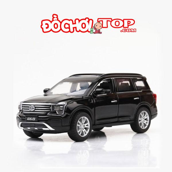 Xe mô hình ô tô Trumpchi GS8 tỉ lệ 1/32 màu đen – Hợp Kim Cao Cấp
