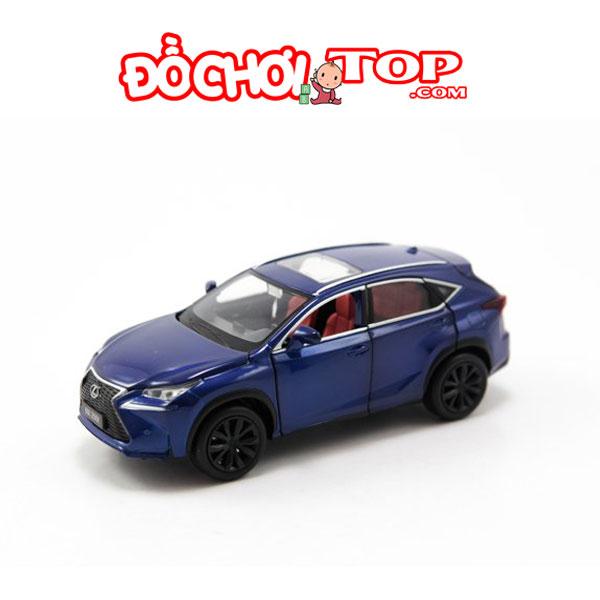 Xe mô hình ô tô Lexus NX 200T tỉ lệ 1:32 màu xanh – Hợp Kim Cao Cấp