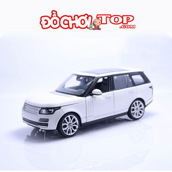Xe mô hình Land Rover Ranger Rover Tỉ Lệ 1:24 Chất Liệu Hợp Kim Cao Cấp