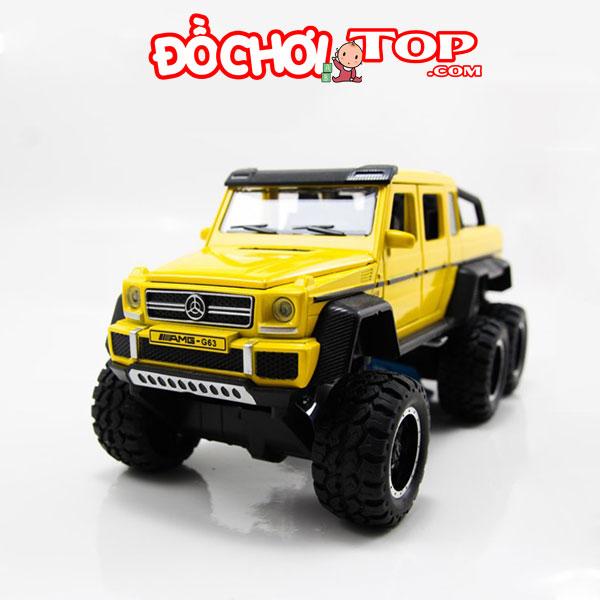 Xe mô hình ô tô Mercedes-Benz G63 NEWAO ALLOY màu vàng – Chất Liệu Hợp Kim Cao Cấp