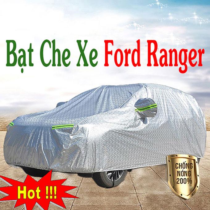 Bạt phủ Xe Ford Ranger 3 Lớp Cao Cấp – Bạt Trùm xe Chống Nóng Chống Thấm Tuyệt Đối