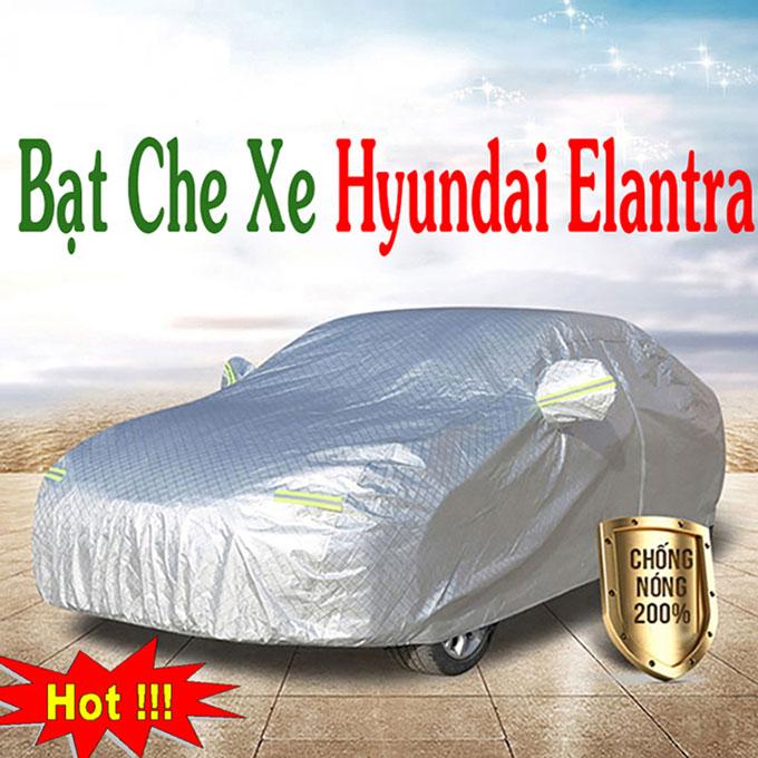 Bạt phủ Elantra 3 Lớp Cao Cấp – Bạt Trùm xe Chống Nóng Chống Thấm Tuyệt Đối