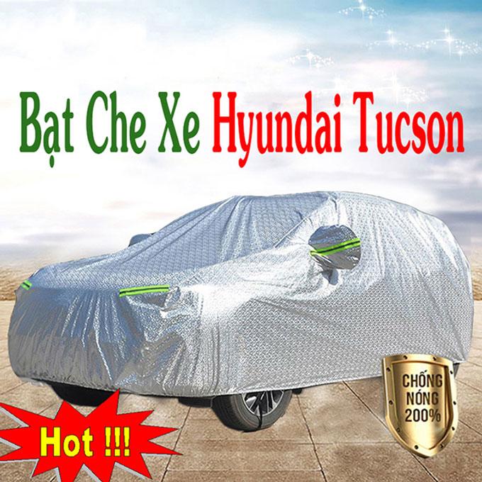 Bạt phủ Hyundai Tucson 3 Lớp Cao Cấp – Bạt Trùm xe Chống Nóng Chống Thấm Tuyệt Đối