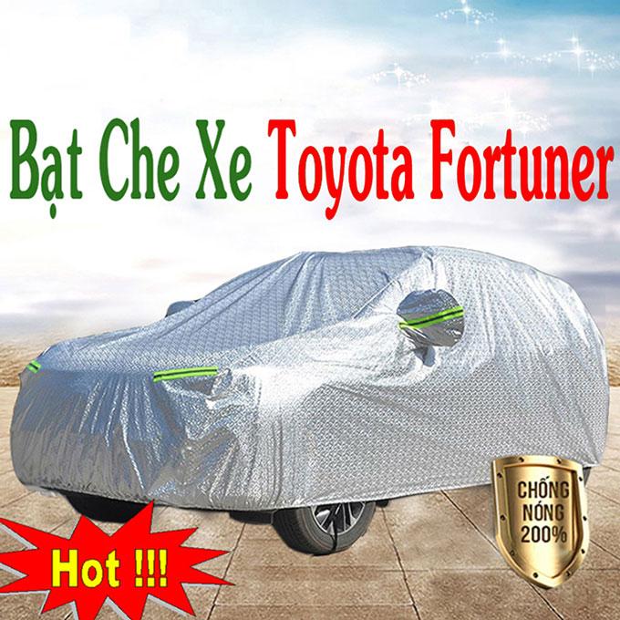 Bạt phủ Fortuner 3 Lớp Cao Cấp – Bạt Trùm xe Chống Nóng Chống Thấm Tuyệt Đối