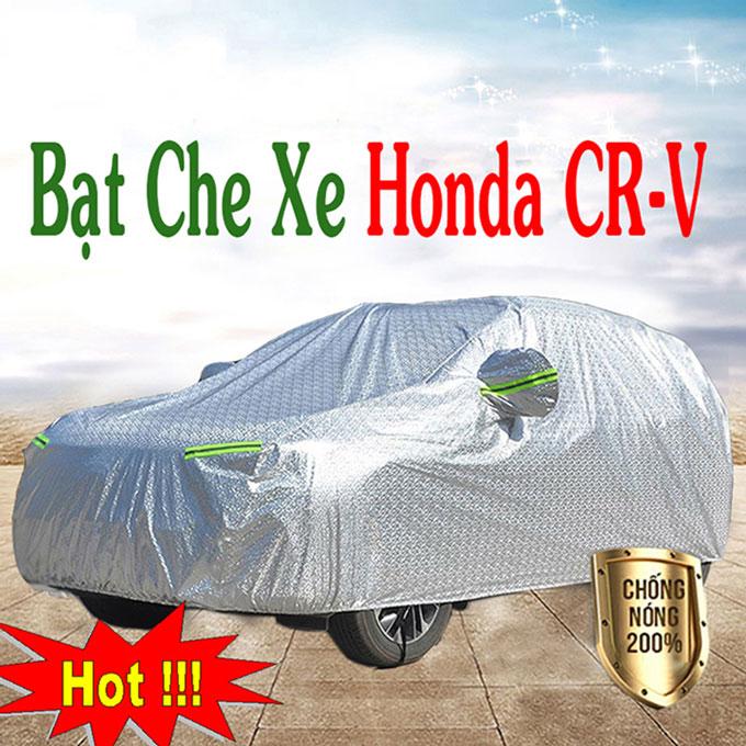 Bạt phủ Honda CRV 3 Lớp Cao Cấp – Bạt Trùm xe Chống Nóng Chống Thấm Tuyệt Đối