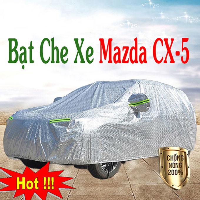 Bạt phủ Mazda Cx5 chỗ 3 Lớp Cao Cấp – Bạt Trùm xe Chống Nóng Chống Thấm Tuyệt Đối