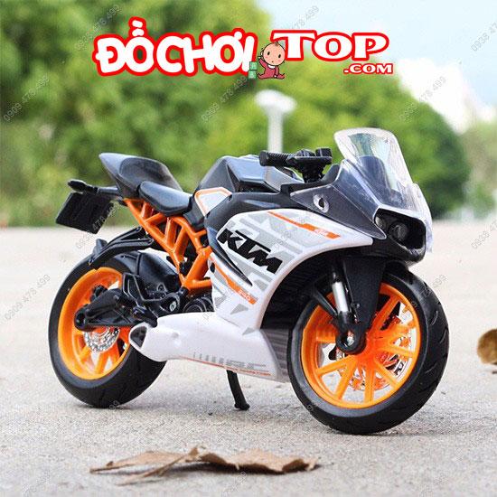 Xe mô tô KTM RC 390 tỉ lệ 1:18 hãng Maisto