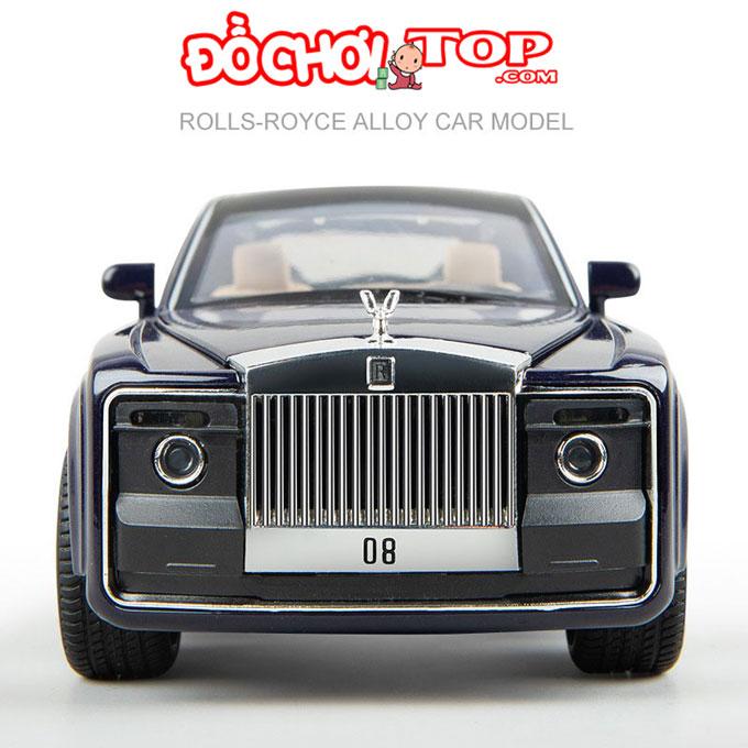 Xe mô hình Roll Royce Sweptail tỉ lệ 1/24 hãng XLG màu đen Chất Liệu Hợp Kim Cao Cấp