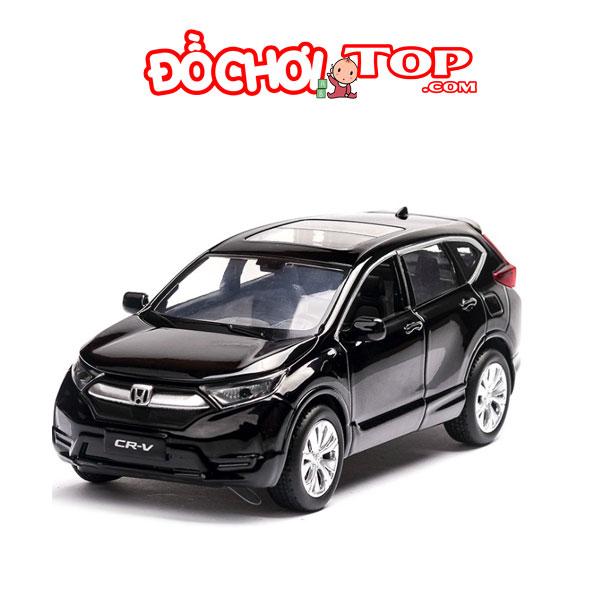 Xe mô hình ô tô Honda CR-V tỉ lệ 1:32 màu đen – Chất Liệu Hợp Kim Cao Cấp
