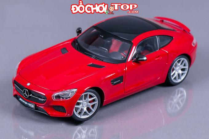 Xe mô hình Mercedes-Benz GT tỉ lệ 1:32 màu đỏ