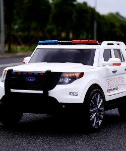 Ô tô xe điện cảnh sát YH-811 2